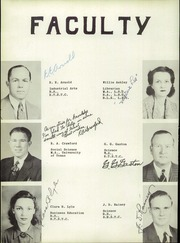 Page 10, 1942 Edition, Pine Tree High School - Buccaneer Yearbook (Longview, TX) online yearbook collection