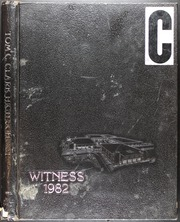 1982 Edition, Tom C Clark High School - Witness Yearbook (San Antonio, TX)
