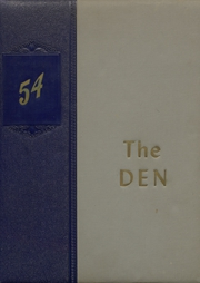 Page 1, 1954 Edition, Daingerfield High School - Den Yearbook (Daingerfield, TX) online yearbook collection