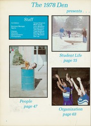Page 6, 1978 Edition, Daingerfield High School - Den Yearbook (Daingerfield, TX) online yearbook collection