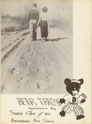 Page 7, 1949 Edition, Brownsboro High School - Bear Tracks Yearbook (Brownsboro, TX) online yearbook collection