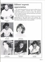 Page 9, 1982 Edition, Victoria High School - Stingaree Yearbook (Victoria, TX) online yearbook collection