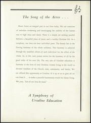 Page 7, 1957 Edition, Ursuline Academy - Acres Yearbook (Dallas, TX) online yearbook collection