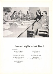 Page 13, 1953 Edition, Alamo Heights High School - Olmos Yearbook (San Antonio, TX) online yearbook collection
