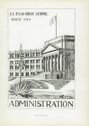 Page 15, 1935 Edition, El Paso High School - Spur Yearbook (El Paso, TX) online yearbook collection