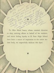 Page 11, 1947 Edition, El Paso High School - Spur Yearbook (El Paso, TX) online yearbook collection