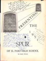 Page 5, 1951 Edition, El Paso High School - Spur Yearbook (El Paso, TX) online yearbook collection
