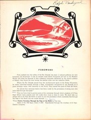 Page 7, 1951 Edition, El Paso High School - Spur Yearbook (El Paso, TX) online yearbook collection