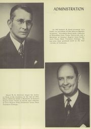 Page 15, 1952 Edition, San Marcos Baptist Academy - Crest Yearbook (San Marcos, TX) online yearbook collection