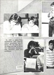 Page 8, 1985 Edition, San Marcos Baptist Academy - Crest Yearbook (San Marcos, TX) online yearbook collection