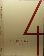 1985 Edition, Westwood High School - Heritage Yearbook (Austin, TX)