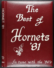 1981 Edition, Hudson High School - Hornet Yearbook (Lufkin, TX)