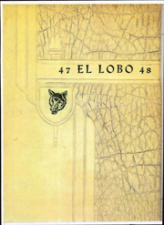 Page 1, 1947 Edition, Monahans High School - Lobo Yearbook (Monahans, TX) online yearbook collection