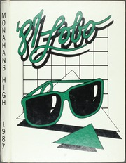 1987 Edition, Monahans High School - Lobo Yearbook (Monahans, TX)