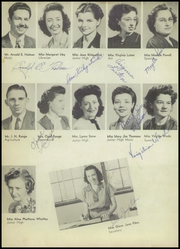 Page 12, 1946 Edition, Mercedes High School - Bengal Yearbook (Mercedes, TX) online yearbook collection
