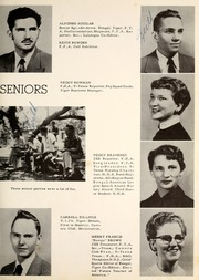 Page 17, 1955 Edition, Mercedes High School - Bengal Yearbook (Mercedes, TX) online yearbook collection