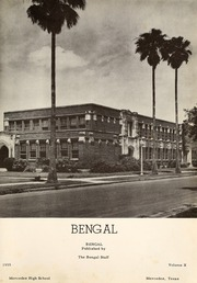 Page 5, 1955 Edition, Mercedes High School - Bengal Yearbook (Mercedes, TX) online yearbook collection