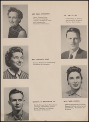 Page 14, 1959 Edition, Mercedes High School - Bengal Yearbook (Mercedes, TX) online yearbook collection