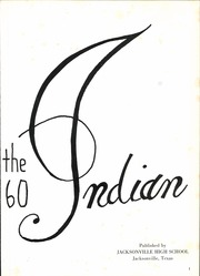 Page 5, 1960 Edition, Jacksonville High School - Indian Yearbook (Jacksonville, TX) online yearbook collection