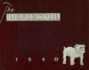 Kilgore High School - Reflector Yearbook (Kilgore, TX) online yearbook collection, 1940 Edition, Page 1