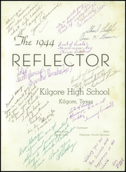 Page 5, 1944 Edition, Kilgore High School - Reflector Yearbook (Kilgore, TX) online yearbook collection
