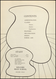 Page 8, 1955 Edition, Kilgore High School - Reflector Yearbook (Kilgore, TX) online yearbook collection