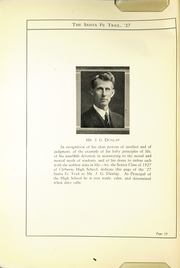 Page 12, 1927 Edition, Cleburne High School - Santa Fe Trail Yearbook (Cleburne, TX) online yearbook collection