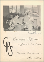 Page 10, 1946 Edition, Cleburne High School - Santa Fe Trail Yearbook (Cleburne, TX) online yearbook collection