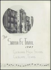 Page 5, 1947 Edition, Cleburne High School - Santa Fe Trail Yearbook (Cleburne, TX) online yearbook collection