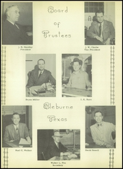Page 12, 1948 Edition, Cleburne High School - Santa Fe Trail Yearbook (Cleburne, TX) online yearbook collection