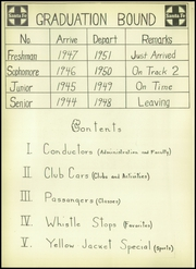 Page 8, 1948 Edition, Cleburne High School - Santa Fe Trail Yearbook (Cleburne, TX) online yearbook collection