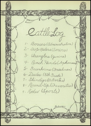 Page 8, 1949 Edition, Cleburne High School - Santa Fe Trail Yearbook (Cleburne, TX) online yearbook collection