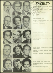 Page 14, 1950 Edition, Cleburne High School - Santa Fe Trail Yearbook (Cleburne, TX) online yearbook collection