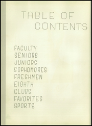 Page 8, 1950 Edition, Cleburne High School - Santa Fe Trail Yearbook (Cleburne, TX) online yearbook collection