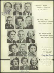 Page 12, 1951 Edition, Cleburne High School - Santa Fe Trail Yearbook (Cleburne, TX) online yearbook collection