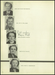 Page 14, 1951 Edition, Cleburne High School - Santa Fe Trail Yearbook (Cleburne, TX) online yearbook collection