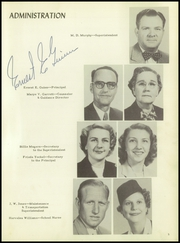 Page 9, 1951 Edition, Cleburne High School - Santa Fe Trail Yearbook (Cleburne, TX) online yearbook collection