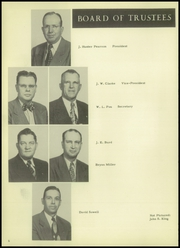 Page 10, 1952 Edition, Cleburne High School - Santa Fe Trail Yearbook (Cleburne, TX) online yearbook collection