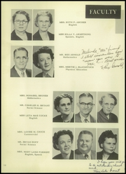 Page 16, 1952 Edition, Cleburne High School - Santa Fe Trail Yearbook (Cleburne, TX) online yearbook collection