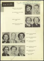 Page 17, 1952 Edition, Cleburne High School - Santa Fe Trail Yearbook (Cleburne, TX) online yearbook collection
