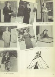 Page 15, 1953 Edition, Cleburne High School - Santa Fe Trail Yearbook (Cleburne, TX) online yearbook collection