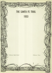 Page 5, 1953 Edition, Cleburne High School - Santa Fe Trail Yearbook (Cleburne, TX) online yearbook collection