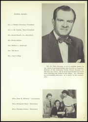 Page 11, 1956 Edition, Cleburne High School - Santa Fe Trail Yearbook (Cleburne, TX) online yearbook collection
