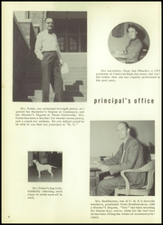 Page 12, 1956 Edition, Cleburne High School - Santa Fe Trail Yearbook (Cleburne, TX) online yearbook collection