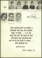 Page 8, 1956 Edition, Cleburne High School - Santa Fe Trail Yearbook (Cleburne, TX) online yearbook collection