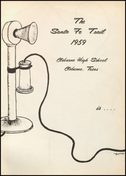 Page 5, 1959 Edition, Cleburne High School - Santa Fe Trail Yearbook (Cleburne, TX) online yearbook collection
