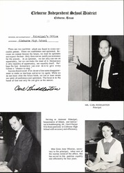 Page 15, 1960 Edition, Cleburne High School - Santa Fe Trail Yearbook (Cleburne, TX) online yearbook collection
