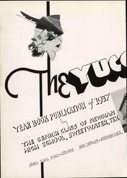 Page 8, 1937 Edition, Newman High School - Yucca Gloriosa Yearbook (Sweetwater, TX) online yearbook collection