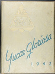 Page 1, 1942 Edition, Newman High School - Yucca Gloriosa Yearbook (Sweetwater, TX) online yearbook collection