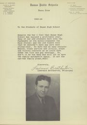 Page 11, 1944 Edition, Dumas High School - Demon Yearbook (Dumas, TX) online yearbook collection